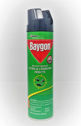 BAYGON GREEN     400ML x 12Pack