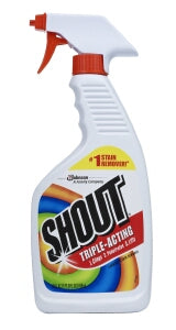 SHOUT LAUNDRY STAIN REMOVER TRIGGER 22OZx12Pack