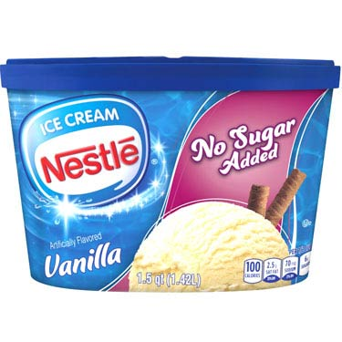 NESTLE VANILLA (No Sugar Added) (4x 1.5QT)