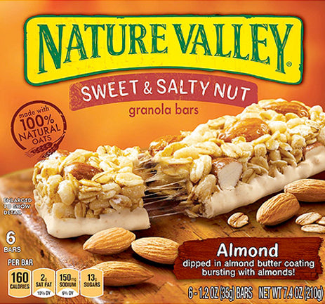 NV GRAN SWEET & SALTY ALMOND 7.4oz 6Pack (12x6Pack)