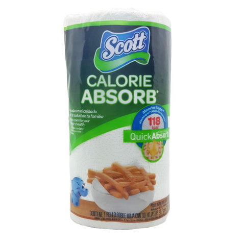 SCOTT CALORIE KITCHEN ROLL 2P 1x12Roll