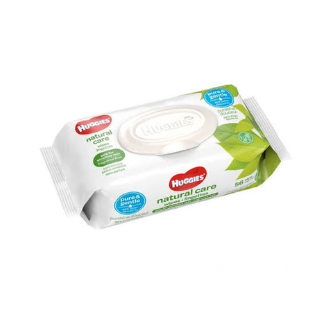 HUGGIES NATURAL CARE SOFT REFILL PACK WIPES (8x56CT=448CT)