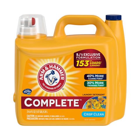 ARM & HAMMER 153 LOADS - 214.2 OZ