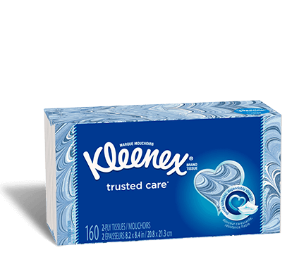 KLEENEX FACIAL TISSUE RECTANGLE 144 2ply - 24 PACK