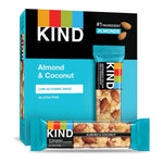 KIND ALMOND AND COCONUT ENERGY  BARS 40G x 12Pack