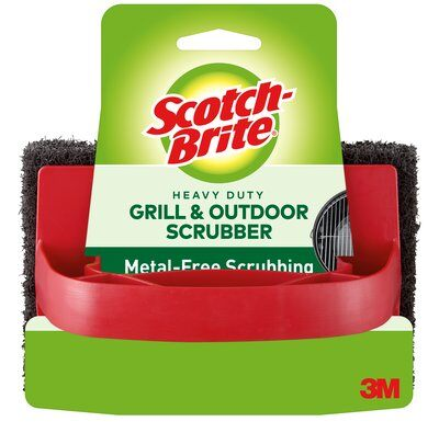 3M HEAVY DUTY GRILL SCRUBBER 12Pack
