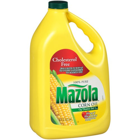 MAZOLA CORN OIL 96oz x 6Pack