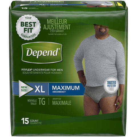 DEP  ADU PANT MALE XL MAX (15x2Pack)
