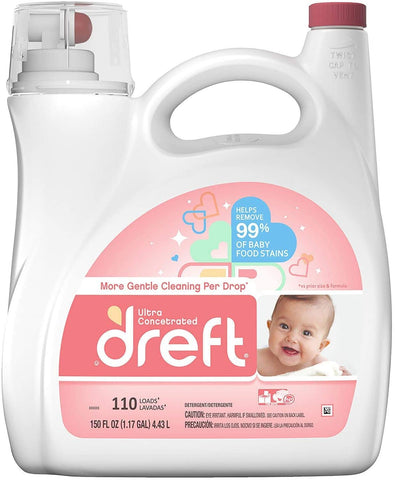 DREFT LIQUID 110 LOADS - 170 OZ