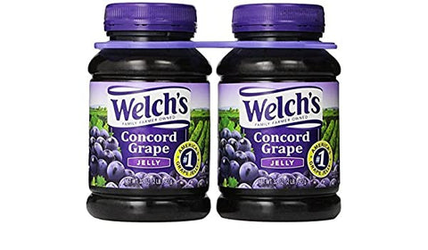 WELCHS GRAPE JELLY 32OZ x 2 Pack