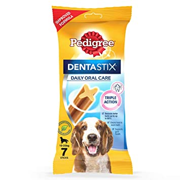 PED DENTASTIC SMALL DOG 160g 10pc x 7Pack