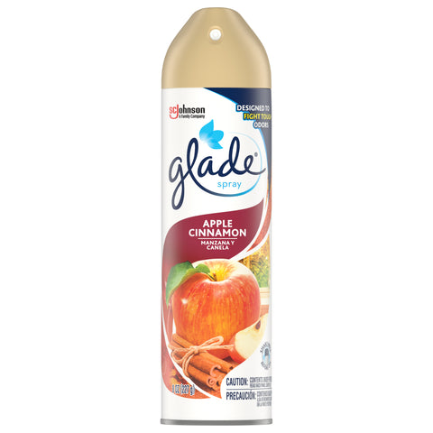 GLADE AIRFRESHNER APPLE CINNAMON 8OZ - Pack