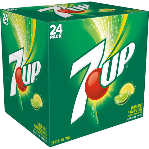 7-UP SODA 12OZ CAN (24 PACK) | Divico Cash & Carry Sint Maarten