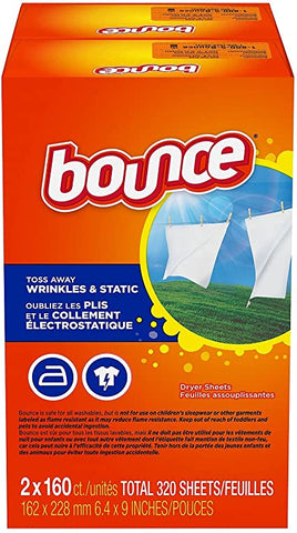 BOUNCE FABRIC SHEETS 320CT