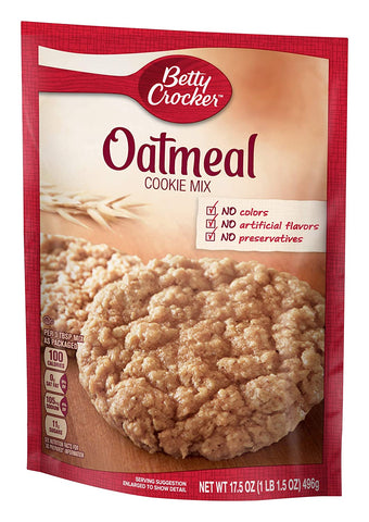 BC COOKIE OATMEAL 17.5oz 12Pack