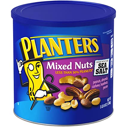 PLANTERS MIXED NUTS 56OZ