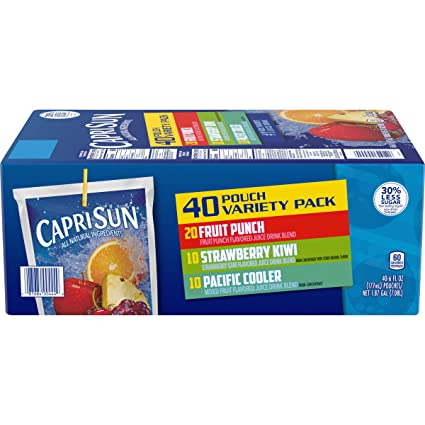 CAPRISUN VARIETY PACK 40 COUNT