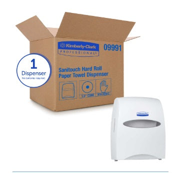 DISPENSER PAPERTOWEL WHITE - IN STOCK. Contact customer service