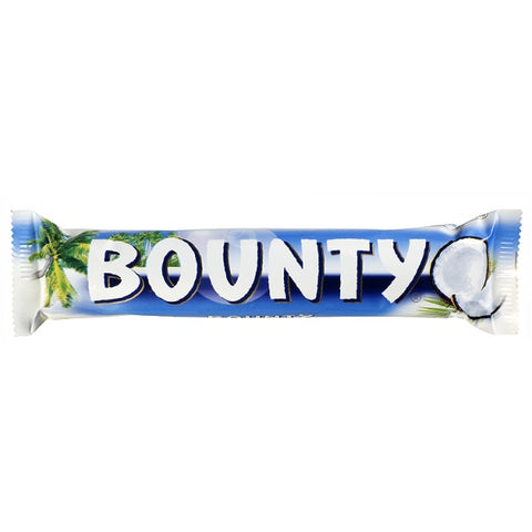 Bounty Milk Chocolate Bar 24 Pack- 57g