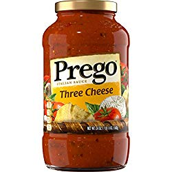 PREGO 3 CHEESE PASTA SAUCE 14OZx12Pack
