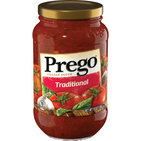 PREGO TRADITIONAL 14OZ x 12 Pack