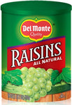 DEL MONTE RAISINS SEEDLESS 18OZ/12/CS