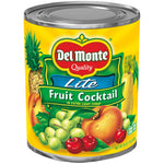 DEL MONTE FRUIT COCKTAIL LITE (6 x 30oz)
