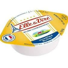 ELLE & VIRE UNSALTED BUTTER CUP 10G x 100 Pack
