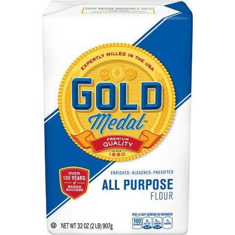GOLD MEDAL ALL PURPOSE  FLOUR 2LB/18