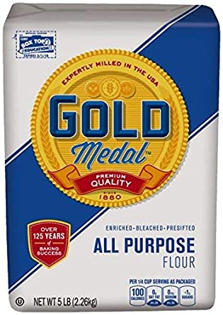 GOLD MEDAL ALL PUR FLOUR 5LB/8