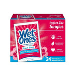 PL WET-ONES ANTIBACTERIAL SINGLES 24CTX10PK - (240 wipes)