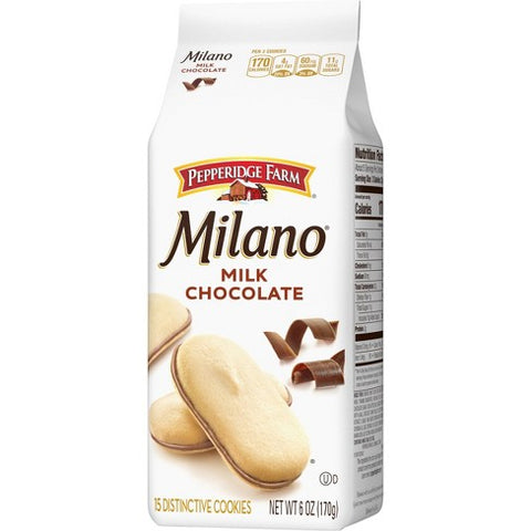 PEPPERIDGE FARM MILANO COOKIES 6OZ - 24 Pack