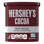 HERSHEY'S COCOA UNSWEETENED CAN 8OZ x 12Pack