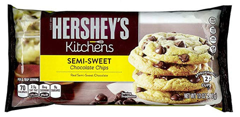 HERSHEY'S BAKING PCS SEMI SWEET12/10Z