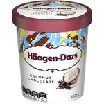 HÄAGEN-DAZS COCONUT CHOCOLATE PINT (8x 460ML)