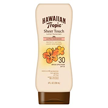 HAWAIIAN TROPIC SHEER TOUCH LOTION SPF30 8OZ/12CS