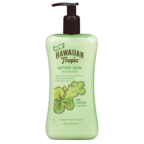 HAWAIIAN TROPIC AFTER SUN LIME COOLADA 16oz x 12Pack