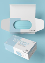 3 PLY SURGICAL MASK BOX - 50ct