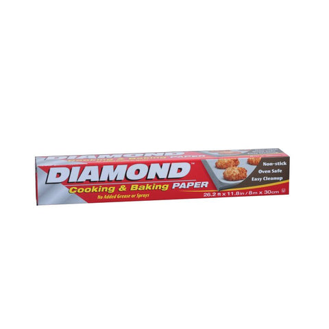 DIAMOND BAKING PAPER 8M/30CM/24PK