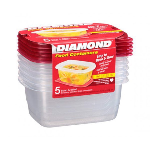 DIAMOND SOUP AND SALAD CONTAINERS | Divico Cash & Carry Sint Maarten