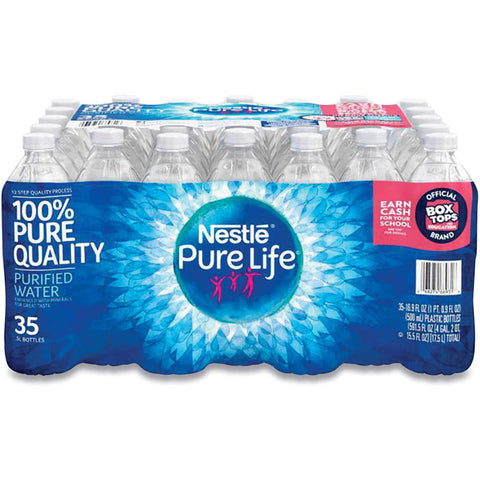 NESTLE WATER 0.5ML BOTTLE (35 PACK) | Divico Cash & Carry Sint Maarten