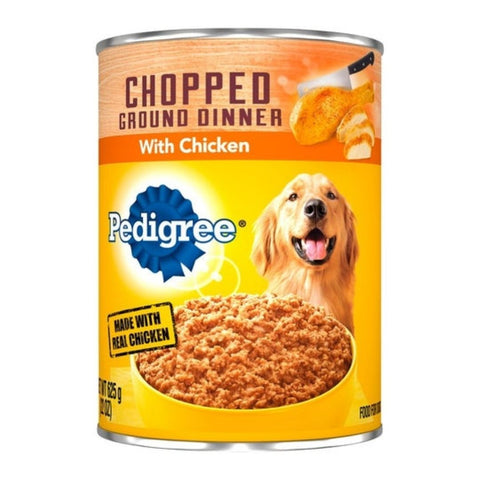 PEDIGREE CHOPPED CHICKEN 22OZ x 12Pack