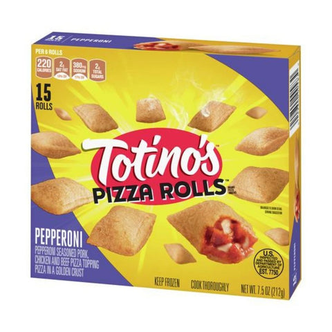 TOTINO'S PIZZA ROLLS PEPPERONI (1x12 packs)