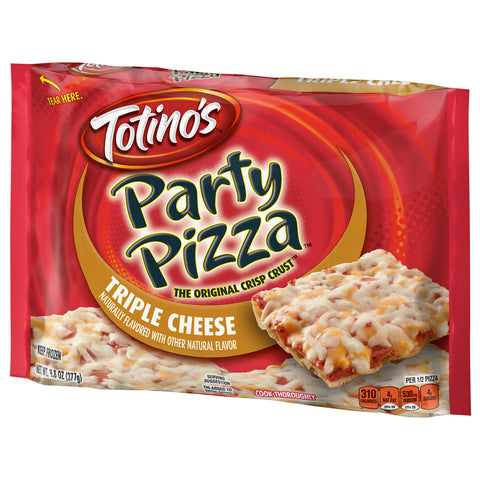 TOTINO'S PARTY PIZZA TRIPLE CHEESE (1x14)