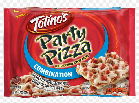TOTINO'S PARTY PIZZA COMBO (1x14)