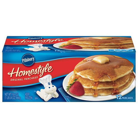 PILLSBURY PANCAKE HOMESTYLE (1X12 packs)