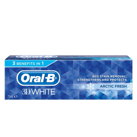 ORAL B DENT 3D WHITE ARCTIC (75ML/12)