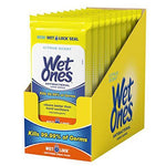 WET-ONES ANTIBACTERIAL WIPES 20ct x 10Pack (200 wipes)