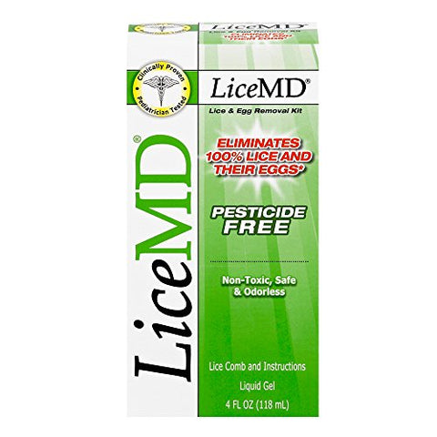 LICEMD HEAD LICE TREATMENT (4OZx3PK)