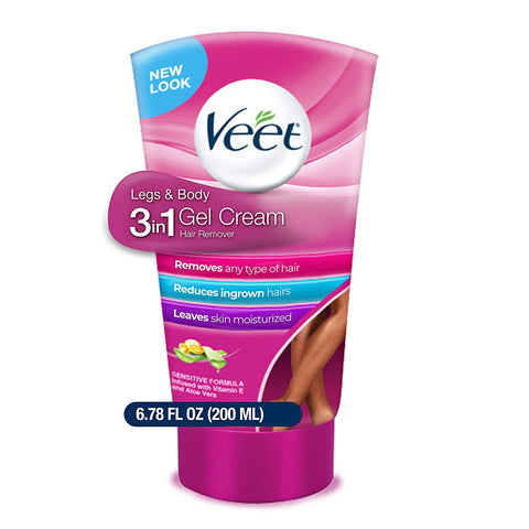 VEET GEL CREAM LEGS & BODY (4x6.78oz)